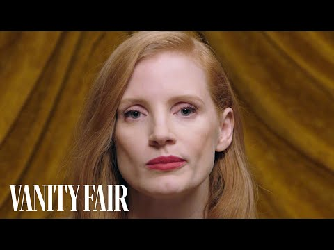 Jessica Chastain Twitches Her Nose Like