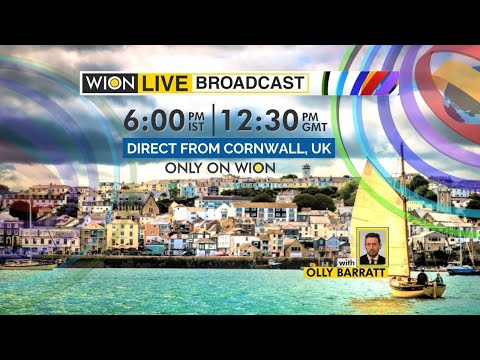 WION Live broadcast: Watch top news of the hour   Olly Barratt   Cornwall   G7 Summit English News
