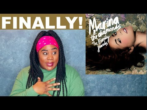 Marina and the Diamonds - The Family Jewels |REACTION|