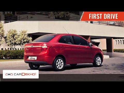 Ford Figo Aspire | First Drive | CarDekho.com