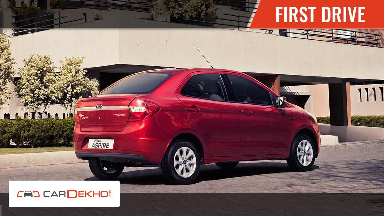 Ford Figo Aspire | First Drive | CarDekho.com
