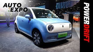 Great Wall Motors ORA R1 | World's most affordable EV | 2020 Auto Expo | PowerDrift