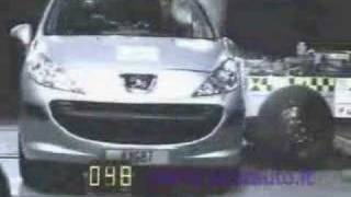 Peugeot 207  Accident Test