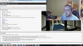 Pygame (Python Game Development) Tutorial - 91 - OpenGL Intro
