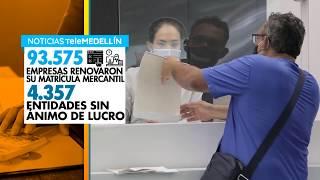 En Antioquia 93.575 empresas renovaron su matrícula mercantil - Telemedellín