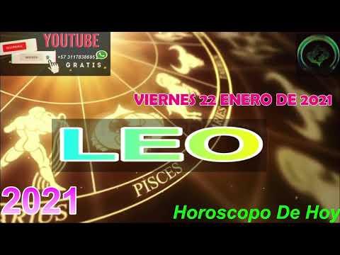 Horoscopo de hoy Leo   Viernes 22 de Enero De 2021#horoscopodehoy