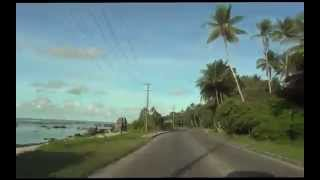 Nauru - round the island in 5 minutes