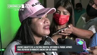 El K-pop se apodera del Parque japonés en Managua - Nicaragua