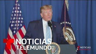 Trump asegura que Soleimani planeaba un inminente ataque contra Estados Unidos   Noticias Telemundo