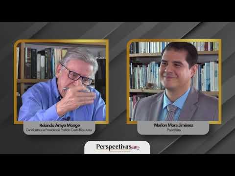 Perspectivas, Democracia Bicentenaria: Rolando Araya Monge (Previa)