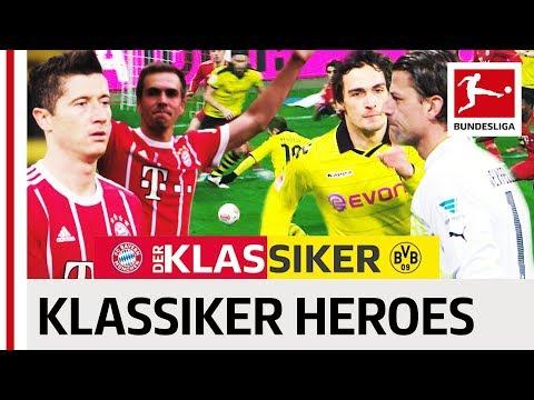 Bayern vs. Dortmund - The Greatest Klassiker Heroes