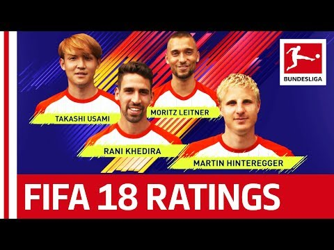 EA SPORTS FIFA 18 - FC Augsburg Players Rate Each Other: Martin Hinteregger, Rani Khedira & More