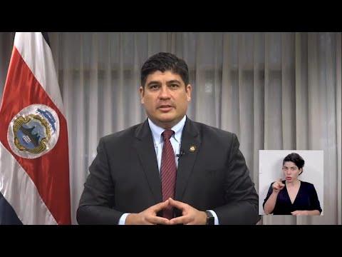 Reacciones - Presidente Carlos Alvarado