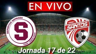 Donde ver Saprissa vs. Santos en vivo, por la Jornada 17 de 22, Liga Costa Rica