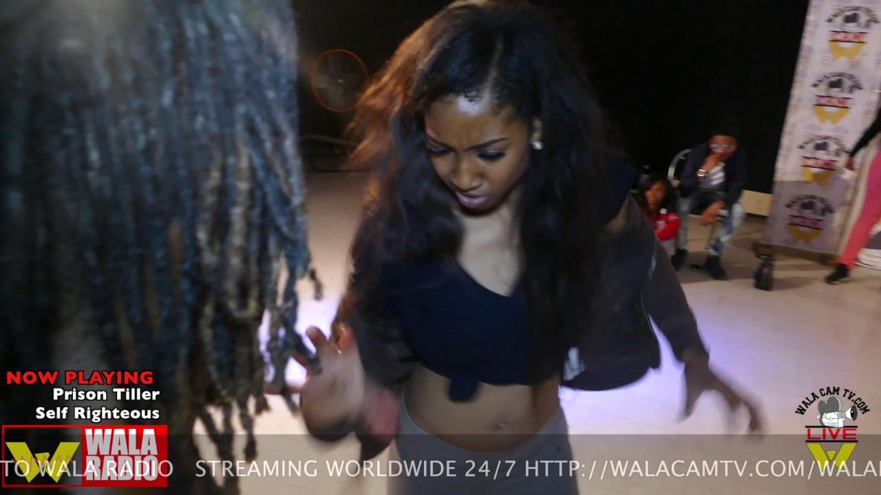 Hip Roll Battle - October Vs Taty @ DA WARZONE WALACAMTV.COM ITS ON!!