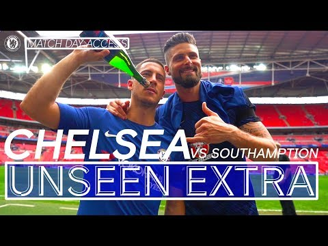 Another FA Cup Final For Chelsea!   Chelsea 2-0 Southampton   Unseen Extra