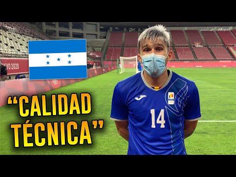 Andrei Ratiu, jugador de Rumania, sorprendido con la Sub-23 de Honduras | Juegos Olímpicos