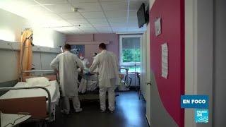 El futuro del hospital Remiremont, al este de Francia, tras el Covid-19