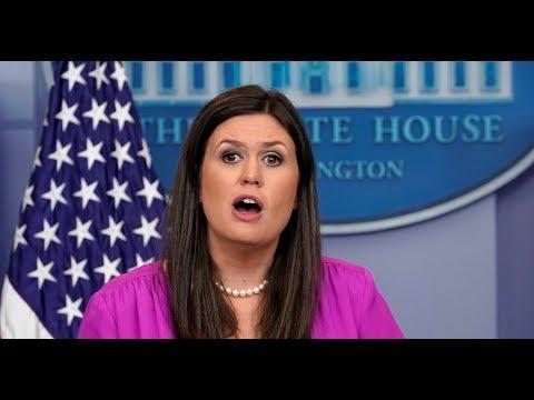 MUST WATCH: Press Secretary Sarah Sanders URGENT White House Press Briefing 3-15-18
