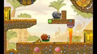 Let's Play Snail Bob 3 Part 1 : Madness Returns