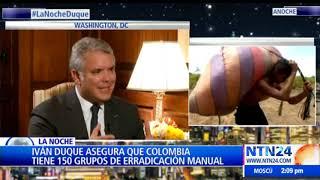 Exclusivo: Entrevista del Subdirector de Noticias RCN, José Manuel Acevedo al Presidente Iván Duque