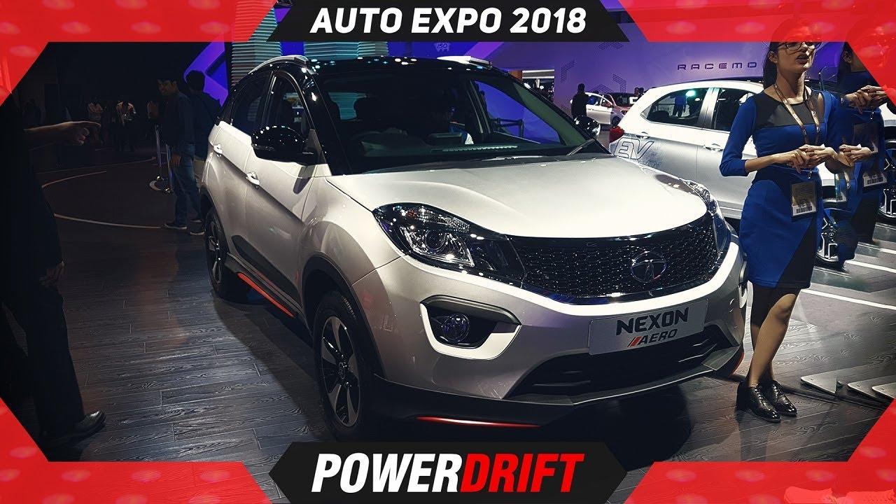 Tata Nexon Aero & Nexon AMT @ Indian Auto Expo 2018 : PowerDrift