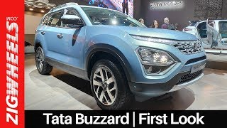 Tata Buzzard SUV Walkaround | Harriers BIGGER 7-seater Cousin For India | ZigWheels.com
