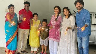 Actress Keerthy Suresh Diwali Celebrations With His Family | #DiwaliCelebrations | TFPC - TFPC
