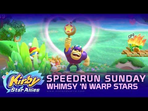 connectYoutube - Kirby Star Allies - Guest Star Bonkers   Speedrun Sunday