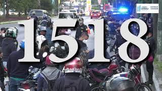 Investigadores de PNC reportan más de 500 acciones de seguridad ciudadana