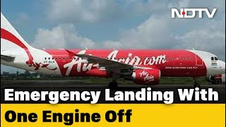 Jaipur-Hyderabad AirAsia Flight With 70 On Board Lands With Engine Shut - NDTV