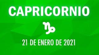 ? Horoscopo De Hoy Capricornio - 21 de Enero de 2021