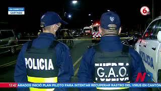 Familiar de fallecidos habló sobre accidente de tránsito en Cartago