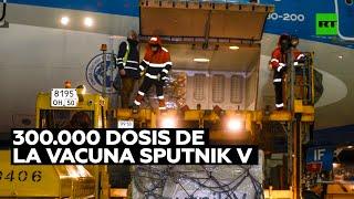 Parte el avión de Aerolíneas Argentinas para recibir otras 300.000 dosis de la vacuna Sputnik V