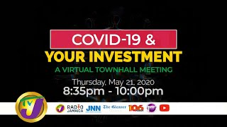 RJRGleaner Virtual Town Hall Meeting COVID-19 & Investment @8:30pm