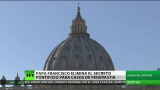 El papa Francisco abole el