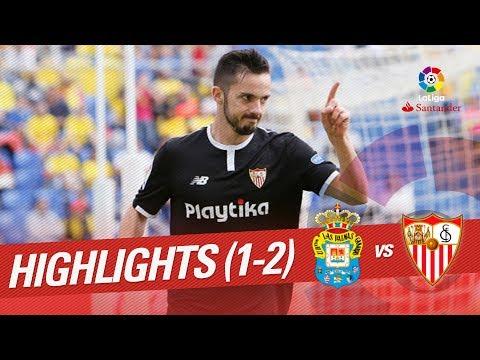 Resumen de UD Las Palmas vs Sevilla FC (1-2)