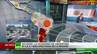 Cómo evoluciona el covid-19 en Latinoamérica