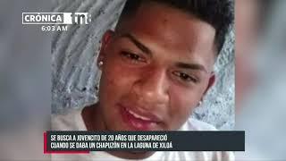 Joven desaparece en las profundas aguas de Xiloá - Nicaragua