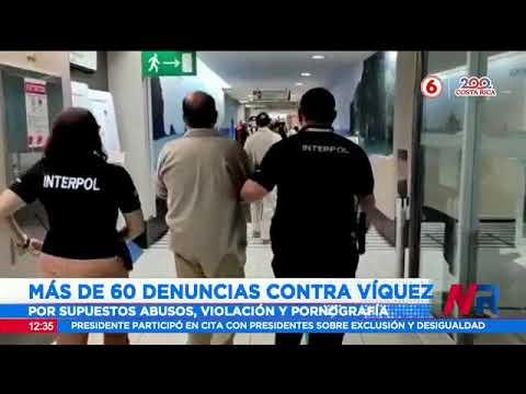 Mauricio Víquez enfrenta más de 60 denuncais