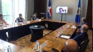 Gonzalo se reúne con la OEA, advierte ningún candidato debe declararse ganador, solo la JCE lo hará