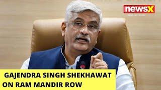 'Tool Kit Gang Is At Work': Gajendra Singh Shekhawat on Ram Mandir Row | NewsX - NEWSXLIVE