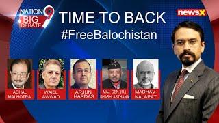 #FreeBalochistan: TIME INDIA TAKES THE LEAD? | NewsX - NEWSXLIVE