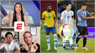 COPA AMÉRICA. BRASIL, ARGENTINA y URUGUAY, los principales candidatos a ganar el torneo   Exclusivos