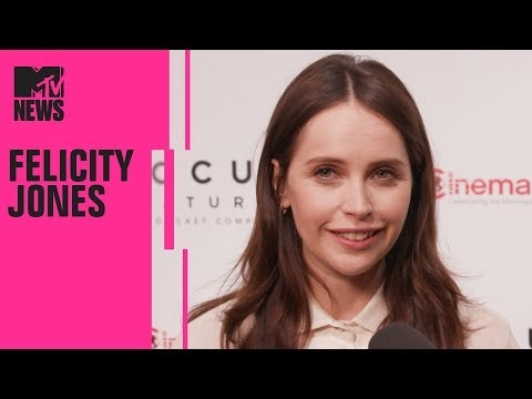 Felicity Jones on Playing Ruth Bader Ginsburg in 'On the Basis of Sex' | CinemaCon | MTV News