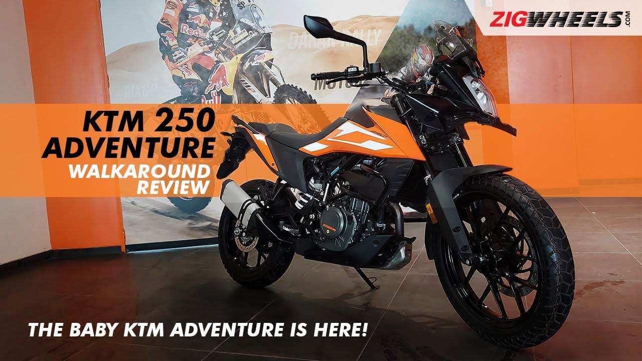 KTM 250 Adventure Walkaround Video | Expected Price, Launch Date, Features & More