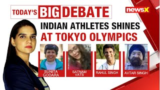Indian Athletes Shines At Tokyo Olympics   Can India Record Best Tally?   NewsX - NEWSXLIVE