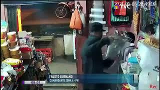 Asalto con armas de grueso calibre en tienda de víveres de Manabí