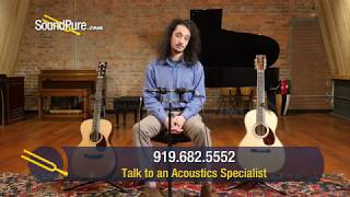 Small Body Acoustic Guitar Comparison: Collings 01 vs Martin 00-42 SC JM