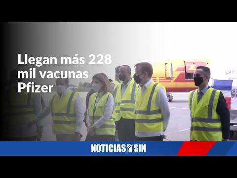 Pfizer serán aplicadas en Sto Dgo y Santiago